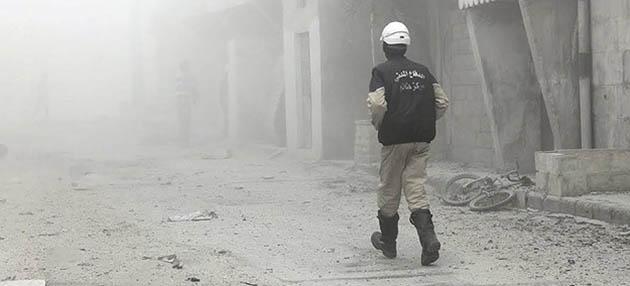 Suriye'de Yine Zehirli Gazla Saldırı İddiası