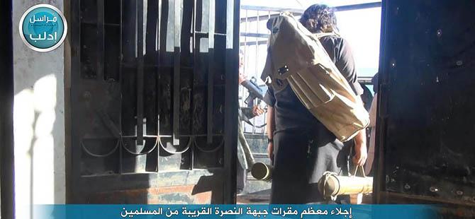 Nusra, Siviller Zarar Görmesin Diye Karargah Boşalttı