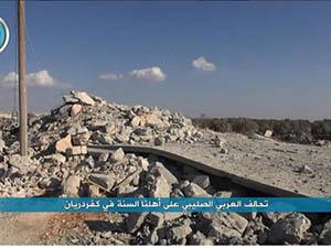 """Nusra: """"ABD Boşaltılmış Yerleri ve Masum Sivilleri Vurdu"""""""