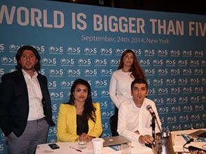 ''Dünya Beş'ten Büyüktür'' Kampanyası Başlatıldı