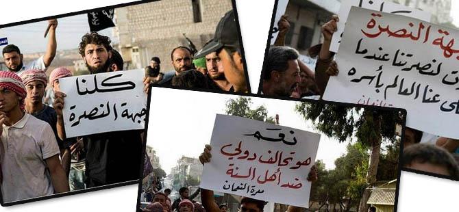 ABD Saldırısı Suriye Halkı Tarafından Protesto Ediliyor!
