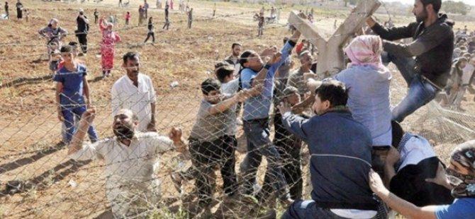 Kürt Ulusalcılarından PYD'ye 1 Saatlik Destek Turu
