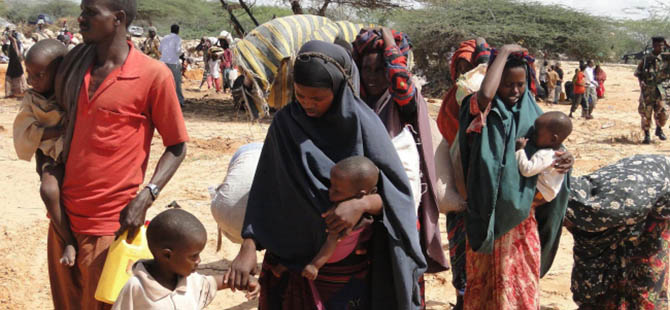 """Somali Cumhurbaşkanından """"Kıtlık"""" Uyarısı"""