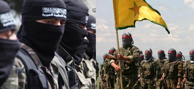 Haseke'de YPG Mevzilerine Canlı Bomba Saldırısı