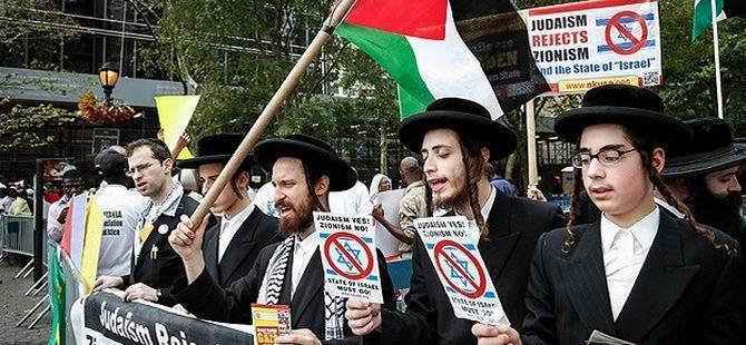 Yahudiler, Netanyahu'yu Protesto Etti