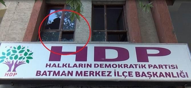 HDP İl Binasına Misilleme