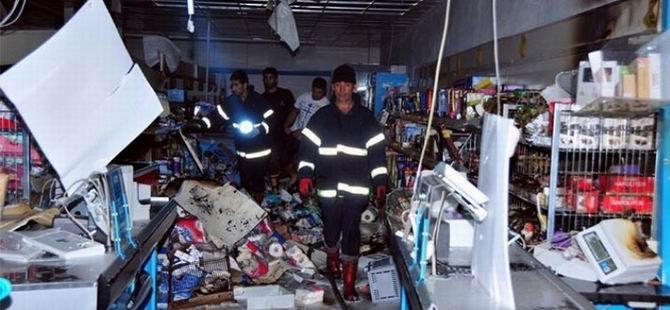Van'da Marketleri Yağmaladılar!
