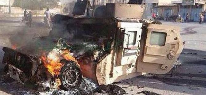 IŞİD, Irak Ordusuna Ait Bir Helikopteri Düşürdü