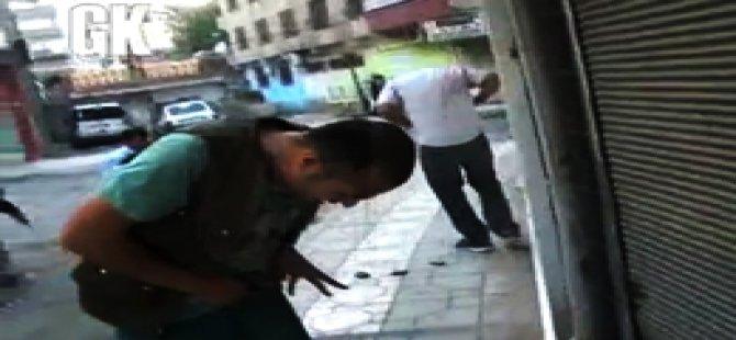 GK ve DİHA Muhabirleri de Köy Der'e Saldırdı