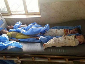 ABD, Irak'ta Küçücük Çocukları Katletti!