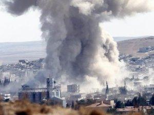 ABD Uçakları Kobani'yi Vurdu!