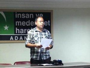 Adana'daki İslami Kuruluşlar: Kardeşlerimizin Yanında Olacağız!