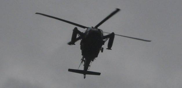 Askeri Helikopter Radarlardan Kayboldu!