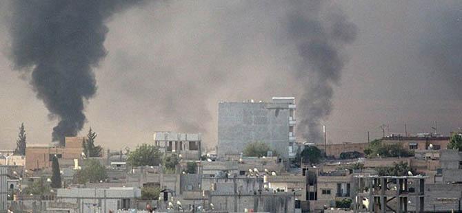 Kobani'deki IŞİD Hedefleri Yine Bombalandı