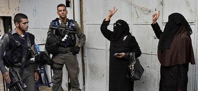 Kudüs'te Siyonistlerin Saldırısı ve Filistinli Kadınların Direnişi