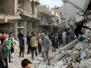 Esed Çetesi Varil Bombalı Saldırılara Devam Ediyor