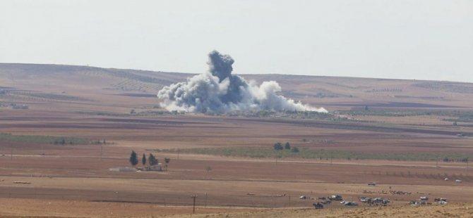 ABD'den Kobani'deki IŞİD Güçlerine 18 Yeni Saldırı