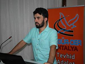 Antalya'da 'Dünden Bugüne Mısır Konusu' İşlendi