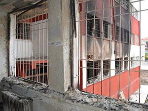 PKK Kız Yurdunu Öğrencilerle Birlikte Ateşe Verdi