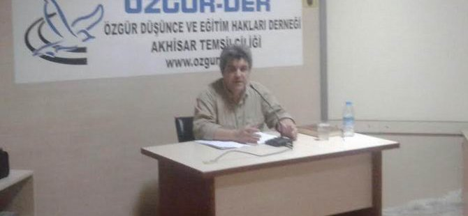 Akhisar'da ''Müslümanların İktidarla İmtihanı'' Semineri
