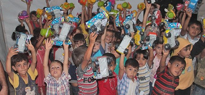 İHH Suriyeli 3 Milyon Çocuğa Umut Oldu