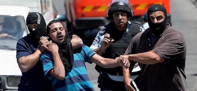 İşgalci İsrail'in Filistinlilere Yönelik Gözaltıları Sürüyor
