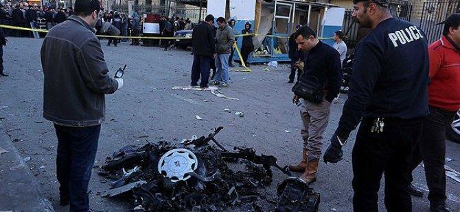 Mısır'ın Nahda Meydanında Patlama