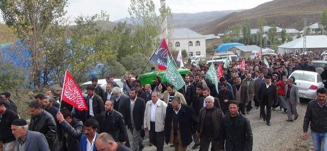 PKK'nın Katlettiği Fethi Yalçın Tekbirlerle Defnedildi