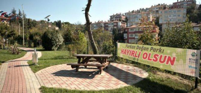 Şehit Furkan Doğan Parkı Hizmete Açıldı