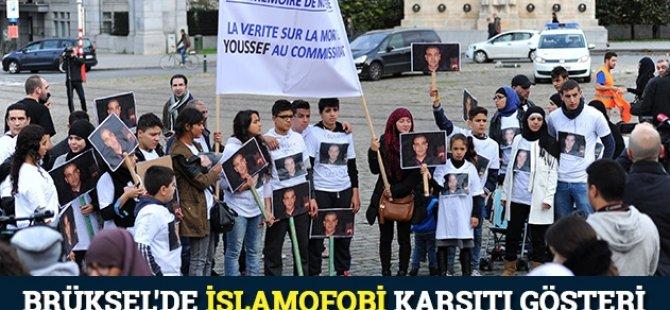 Brüksel'de İslamofobi Karşıtı Gösteri
