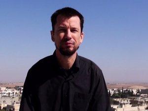 İngiliz Rehine John Cantlie Kobani'de (VİDEO)
