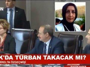 HSYK Üyesinin 'Başörtüsü' Bugün TV'yi Rahatsız Etti