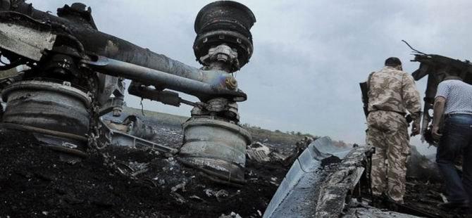 Malezya Havayolları'na Ait Uçak Düşürülmüş