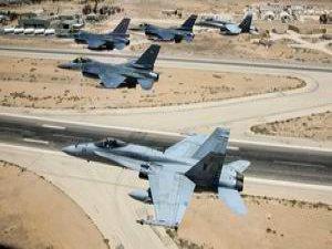 ABD IŞİD'e Bugün 14 Hava Saldırısı Düzenledi