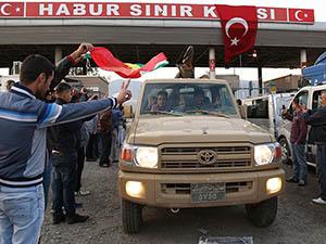 Peşmerge Konvoyu Türkiye'ye Giriş Yaptı