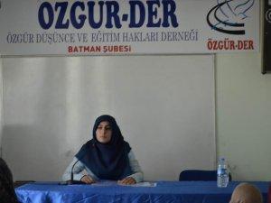 """""""Ali Şeriati: Hayatı ve Düşüncesi"""" Semineri Yapıldı"""