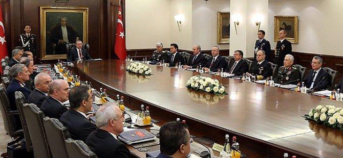Cumhuriyetin En Uzun MGK Toplantısı Sona Erdi