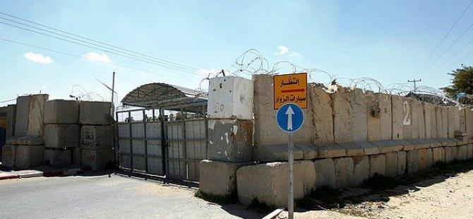 İsrail Gazze Sınır Kapılarını Kapattı