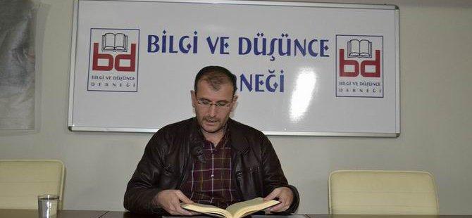 """Bingöl'de """"İslami Mücadelede Kaynak Sorunu"""" Semineri"""