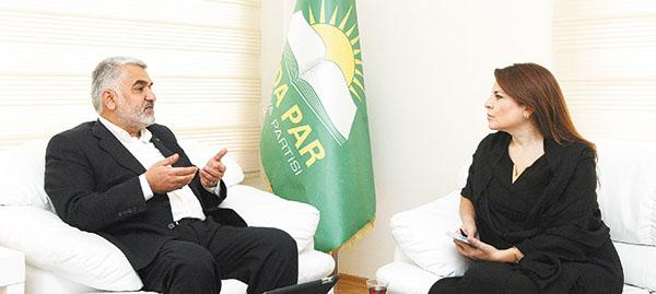 HÜDA PAR Başkanı Star Gazetesine Konuştu