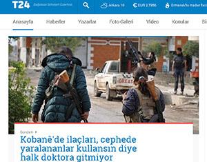Kobani Efsanesine Ara Vermeden Devam!