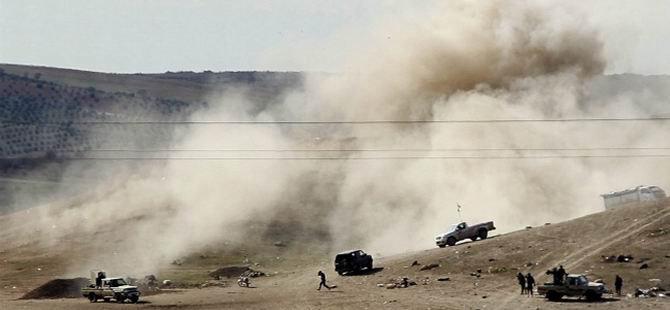 Amerika'dan IŞİD Mevzilerine Bombalı Saldırı