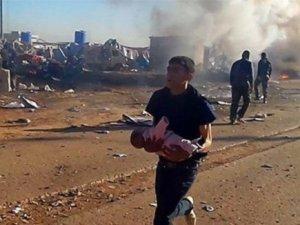 ABD Uçakları Nusra, Ahrar ve İslami Cephe'yi Vurdu