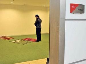 """CHP Genel Merkezi'nde Mescid """"Açılımı"""""""