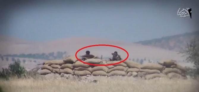 IŞİD YPG'ye Düzenlenen Yeni Baskın Görüntülerini Yayınladı (VİDEO)