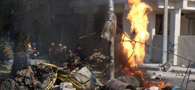 """Esed Güçlerinden Halep'e """"Varil Bombalı"""" Saldırı"""