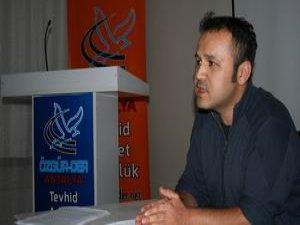 """Antalya Özgür-Der' de """"Filistin Direnişimiz"""" Semineri Yapıldı"""