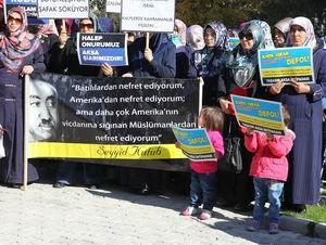 Isparta'da Mescidi Aksa Eylemi