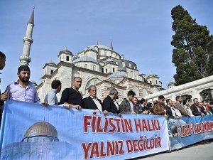 Türkiye Mescid-i Aksa İçin Ayakta (FOTO)