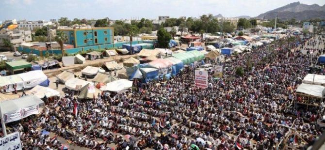 Yemen'de Husilere Karşı 'Ayrılık' Cuması